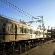 静岡鉄道はA3004 新静岡手前のカーブ (2018年秋)