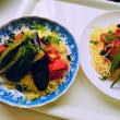 ラ王袋麺でトマト🍅冷麺