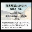 熊本地震から1年7ヶ月が経ちました