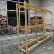 薪棚の製作