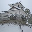 金沢の冬2017-6 雪の金沢城公園