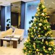 クリスマスツリー設営 今年も基本上品に!!