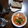 魚は粗(あら)が旨い - 鮭のトマト煮込み !!!