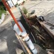 急勾配の入り口の拡張工事 茨城 守谷
