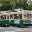 コチラは系統板に貼られておりました  広島電鉄1900形 #8