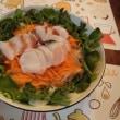 三角カルビ&蛸サラダ~カルパッチョ風
