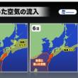 北部九州の豪雨のメカニズム!