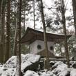雪の鞍馬寺奥の院