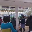サニーサイドモール小倉で演奏 池内陽子(Pf)湯野彩(Fl)