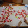 梅花の切り絵 作成♬