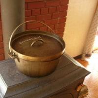 ダッチオーブン鶏スープ