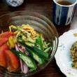 冷麺と焼き飯