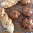 パンづくりンの修行 クルミパンと葡萄の食パン