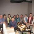 四国旅行反省会と金婚式祝賀会