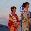 有明海花火フェスタ  横山紗弓と古賀理紗  2017・8・27