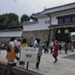 堀尾貞治、パホーマンスを見に二条城へ行きました、