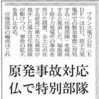 福島第一原発へようやく国産ロボットの投入 仏では原発事故対応特別部隊