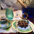 イヴニング☆カフェ& チョコレート・ワッフル