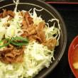 まんぷく食堂 大久保店 - 京成大久保/定食 豚バラ丼 食べ放題