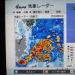 降雨時の気象情報(2017年09月22日)