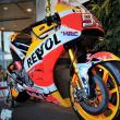 レプソルホンダのチャンピオンバイク
