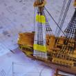 帆船模型を作る その4