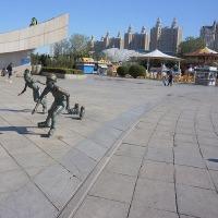 大連 星海広場 広大な海辺の公園!