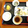 昼食   10月10日   天ぷら盛り合わせ