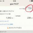 5月24日 ブログ開設1,000日目🎉