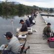 ワカサギ釣り情報:丹生湖最後のサンビーム大会・・・