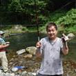 毎年恒例のマス釣行イベント!