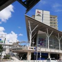 那覇のバスターミナル