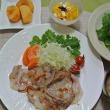 塩麹の生姜焼き&トキ山さんからのクレーム♪