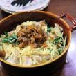 鯖の味噌煮と南瓜のチーズ焼き