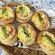 ハムロールチーズパン