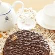 チョコレートのムースケーキ