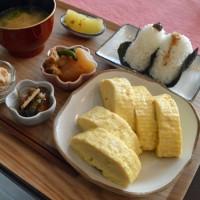 染谷商店(奈良市椿井小学校南)の激ウマ!だし巻玉子定食