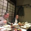 大石先生(九州大学)と夕食会
