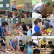 親子木工教室がありました。