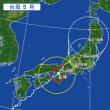 台風直撃w