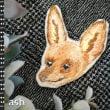 動物刺繍ブローチ、制作過程での変遷をお見せします!