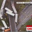 米ワシントン州で列車事故。70人以上搬送、6人死亡か…米報道
