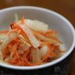 中華風献立 餃子・青梗菜と平茸のオイスターソース炒め・ラーパーツァイ