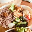 月曜日は京都から「玄米のお弁当」♪