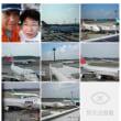 20061017成田空港。二人とも飛行機を見るのが好きです。