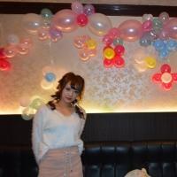太田市のキャバクラ バルーンスタンド  くるみちゃん