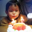 シュウちゃん2歳の誕生日おめでとう。