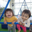 しろ 1歳児 体育館遊び☆