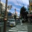 大阪東住吉区駒川上空曇天に意味深雲・谷町筋・松屋町筋・堺筋から南を見るとえげつない地震雲が。