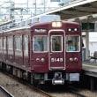 阪急 庄内(2017.10.14) 5104F 普通 雲雀丘花屋敷行き